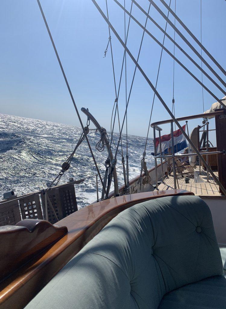 Feadship Iduna under Sail