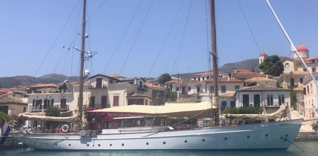 Feadship IDUNA Greece
